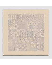 Le Bonheur des Dames - réf. 6118 - Tafelkleed Sashiko (borduren)