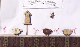 The Bee Company - Moutons & Nichoir (TB79B)