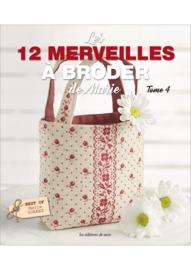 Livre - Les 12 merveilles à broder de Marie (tôme 4)