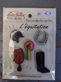 """Atelier Bonheur du Jour - Collection """"L'Equitation"""""""