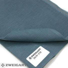 Precut - Zweigart - Belfast - kleur 578 (Blue Spruce)