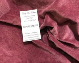 "Lady Dots Creates - Velveteen Kleur ""Berry Crush"""