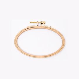 Rico - Cercle à broder (ovale 14,5 x 9.5 cm)