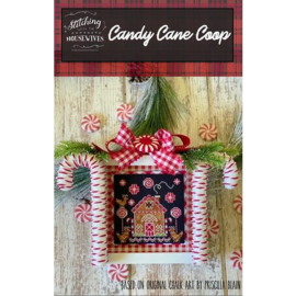 Stitching with the Housewives - Candy Cane Coop