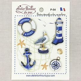 """Atelier Bonheur du Jour -  """"Bienvenue à bord"""" (P-54)"""
