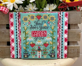 Stitching with the Housewives - How does your garden grow