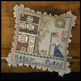 """Little House Needleworks -""""Early Americans"""" - nr. 1 Betsy Ross"""