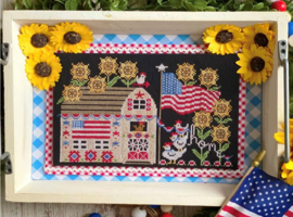 Stitching with the Housewives - Liberty Farm