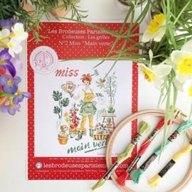 """Les Brodeuses Parisiennes - Miss nr. 2 - """"Main Verte"""""""