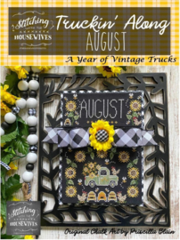 Stitching with the Housewives - Truckin' Along - August