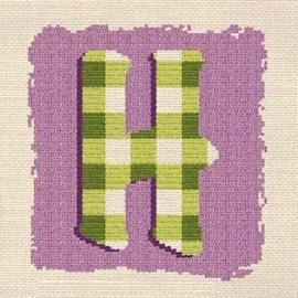 Lili Points - 000H - Letter H