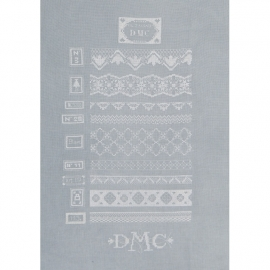 DMC BK1517 - White Lace (BK1517)