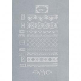 DMC BK1517 - Dentelles blanches