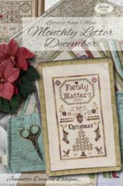 Jeannette Douglas - Letters from Mom - Monthly Letter December