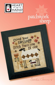 Heart in Hand - Patchwork Sheep