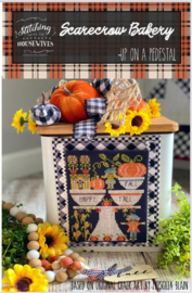 Stitching with the Housewives - Scarecrow Bakery