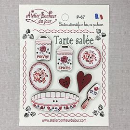 "Atelier Bonheur du Jour -  ""Tarte Salée"""