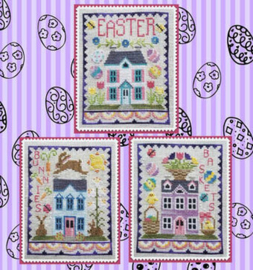 Waxing Moon Designs - Easter House Trio