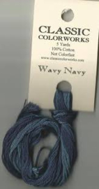 Classic Colorworks - Wavy Navy