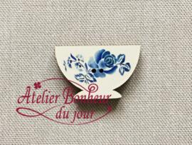 Atelier Bonheur du Jour - Digoin - Kommetje (blauw)