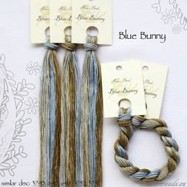 Nina's Threads - Blue Bunny