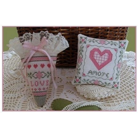 Plum Pudding Needleart - All about Love