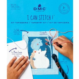 DMC - I can stitch - Zébulon, de egel (ref. C303K)
