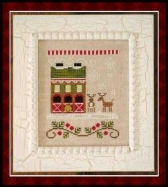 Country Cottage Needleworks - Santa`s House - Reindeer Stables (nr. 6)