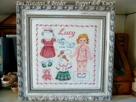 Des Histoires à broder - Lucy