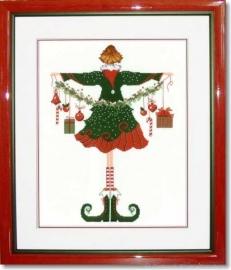 Liebevolle Kreuzstichentwürfe - Lulu Belle  zu Weihnachten