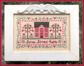 Country Cottage Needleworks - Love Lives Here
