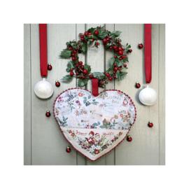 Les Brodeuses Parisiennes - Coeur de décembre (aïda)
