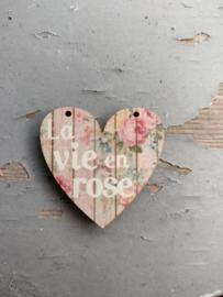 Atelier Bonheur du Jour - Hart - La vie en Rose