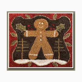 Little House Needleworks - The Gingerbread Man (Punchneedle)