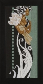 35135A - African lady with flowers