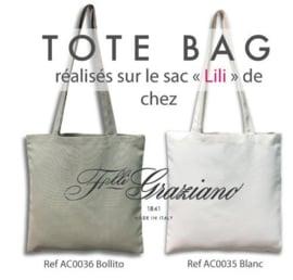 Graziano - Tote Bag - Grijs