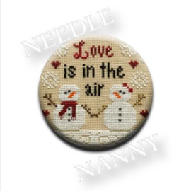 Needle Nanny - Love is in the air by Country Cottage Needleworks