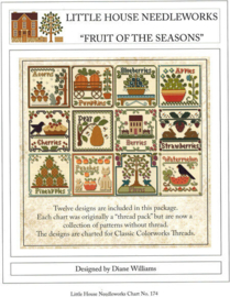 "Little House Needleworks  ""Fruit of the Seasons"""