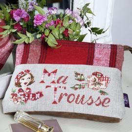 """Les Brodeuses Parisiennes - Maxi-trousse """"Tartan"""" (linnen)"""