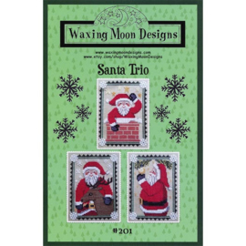 Waxing Moon Designs - Santa Trio