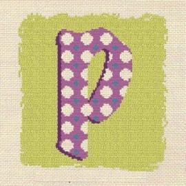 Lili Points - 000P - Letter P