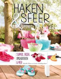 Boek - Haken & Sfeer (slippers, tassen, omslagdoeken, ...