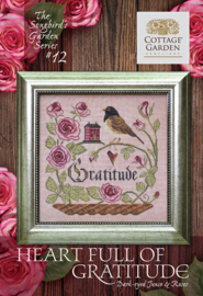 Cottage Garden Samplings - Have Courage (Heart full of Gratitude  nr. 12)