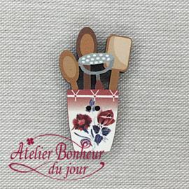 Atelier Bonheur du Jour -  Digoin - Keukengerei rood