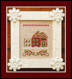 Country Cottage Needleworks - Santa`s House - Santa`s Stocking Store (nr. 5)