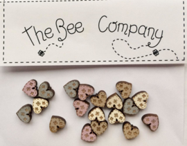 The Bee Company - Mini coeurs (TM12)
