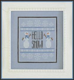 Country Cottage Needlework - Hello Snow !