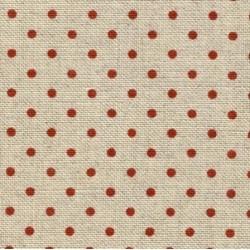 Zweigart - Belfast (12.6 dr/cm - 32 ct) - kleur 5391 - Petit Point (bordeaux)