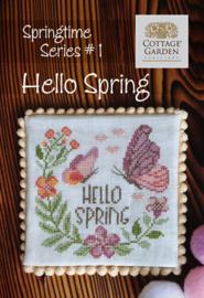 Cottage Garden Samplings - Hello Spring (Springtime series nr. 1)