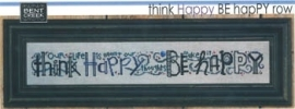 Bent Creek - Think Happy Be Happy row